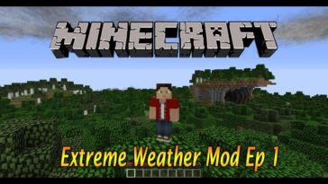 Minecraft: Excessive Temperature MOD (Tornadoes, Massive